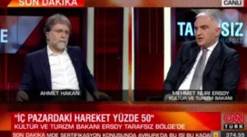 """Bakan Ersoy: """"İç turizm ile başladık dış turizm ana hedefimiz!"""""""