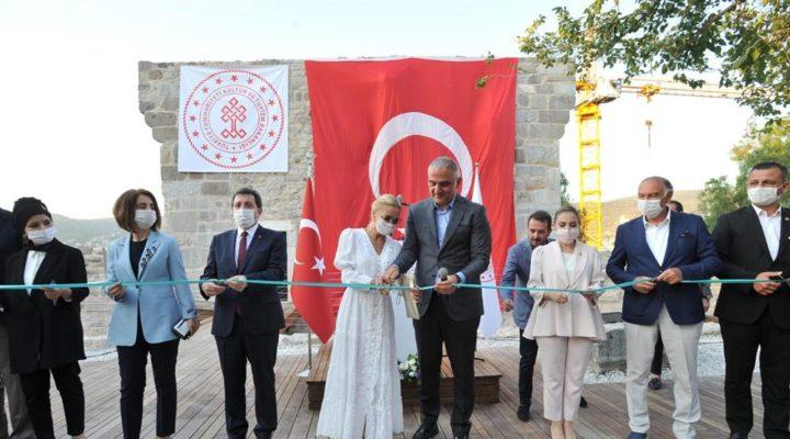 Bodrum Kalesi'nin ikinci etabı ziyarete açıldı