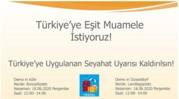 TÜRSAB'ın sessizliği, Avrupa Türk Acentacılar Birliği'nin çok sesli eylemi