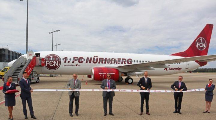 Corendon Airlines, 1. FC Nurnberg Futbol Kulübü Sponsoru oldu