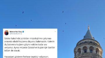 Galata Kulesi'ndeki restorasyon ertelendi