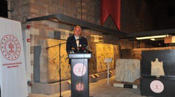 Lidya Yazıtının Yeni Evi Anadolu Medeniyetleri Müzesi