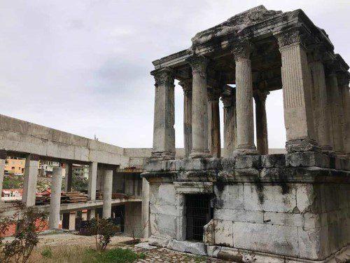 2 bin yıllık tarihi betona boğan müze inşaatı yıkılacak!