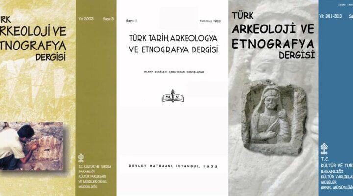 Türk Arkeoloji ve Etnografya Dergisi 2021'de yeniden yayınlanıyor
