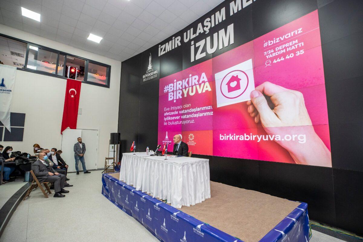 İzmir için bir kira bir yuva kampanyasına destek verelim