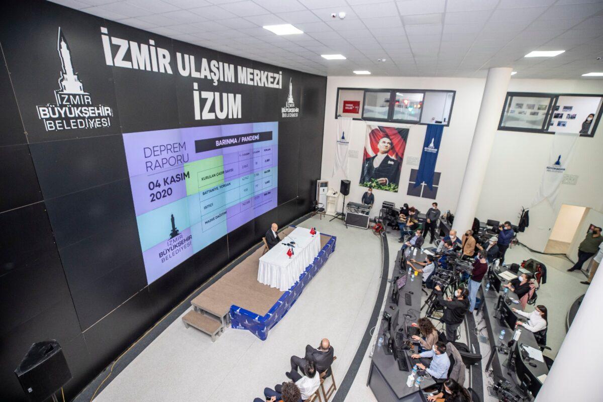 Hilton oteli İzmirli depremzedelere tahsis edildi..