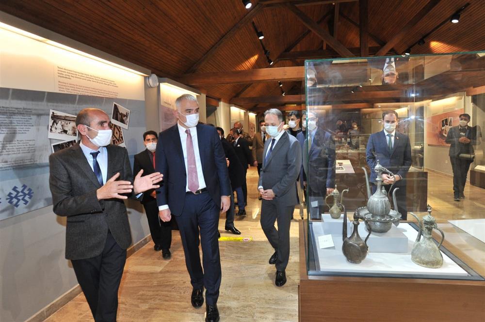 Restorasyonu tamamlanan üç müzenin açılışı yapıldı