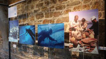 Bodrum'un Sualtı Arkeoloji Tarihi sergileniyor