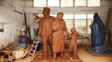 İzmir Eşrefpaşa'ya eşsiz bir mübadele heykeli yapılıyor