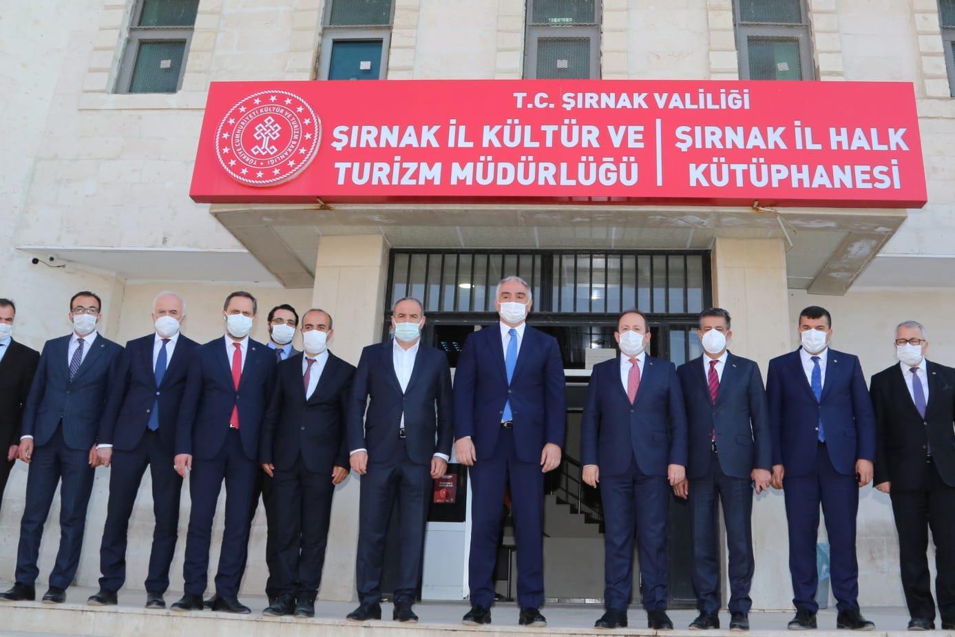 Bakan Ersoy: Şırnak'ın turizm değerlerini ön plana çıkaracağız