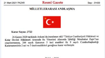 Türkiye Katar'ın su ve gıda güvencesi mi olacak?