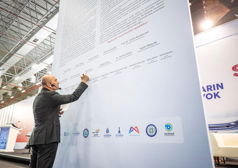 """11 Belediyeden Su Manifestosu: """"Başka bir su yönetimi mümkün!"""""""