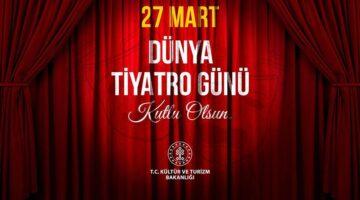 Geçmişten bugüne Türk Tiyatrosunu var eden sanatçılara şükranlarımızla..