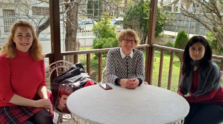 Çevreci Ressam Ayşecan Hizmet'e Çevreci Belediyeden tam destek…