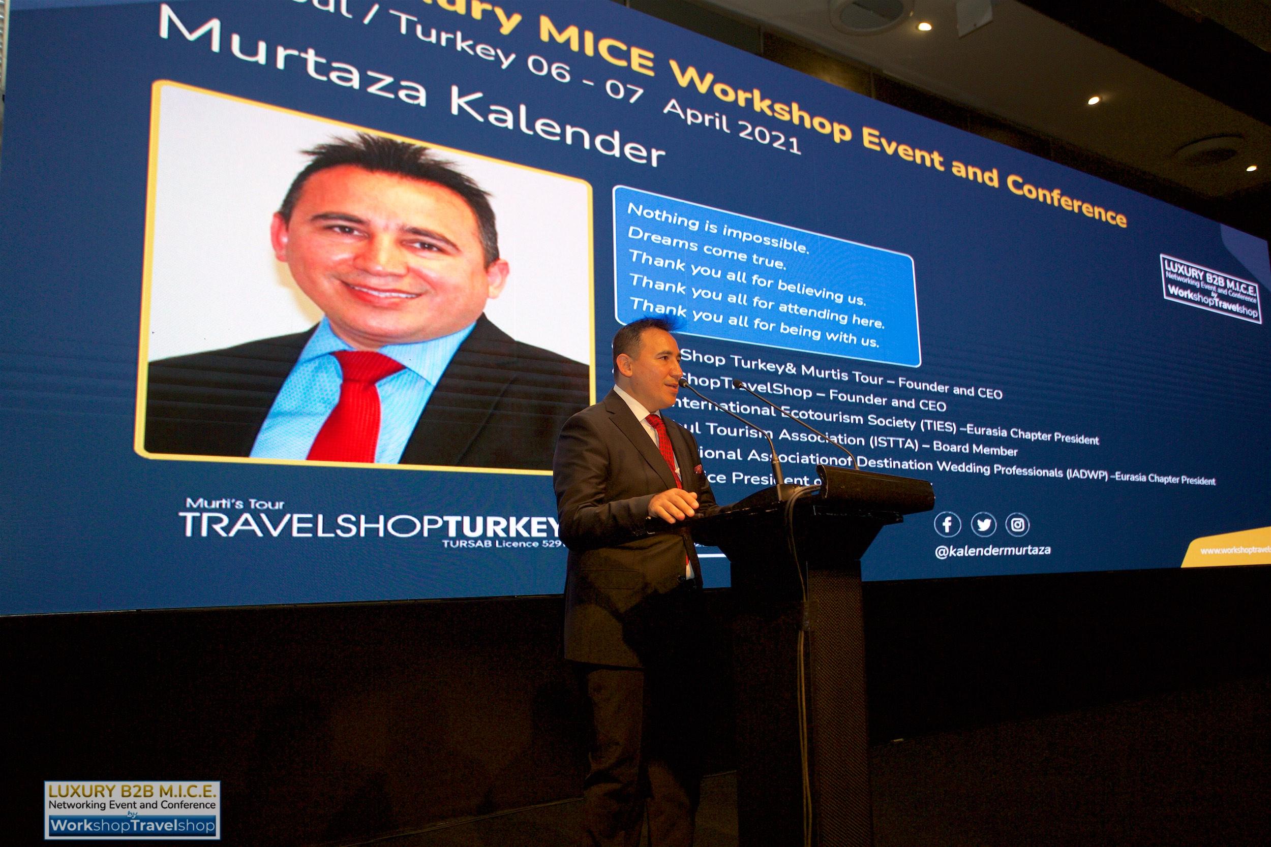 B2B Luxury MICE & Conference turizm sektörüne moral verdi..