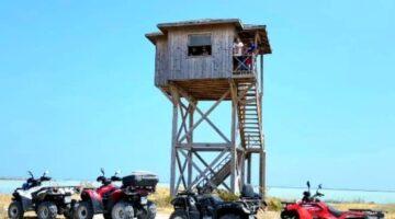 Yuvalama kumsalında ATV tahribatına büyük tepki…