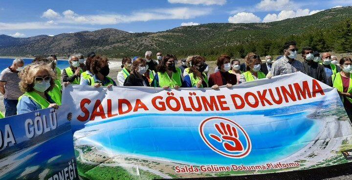 Salda Gölü Marmara olmasın!