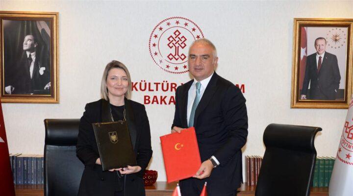 Türkiye ve Arnavutluk ortak miras iş birliği protokolü imzaladı