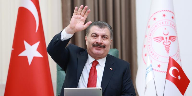 Dünya Sağlık Örgütü'nden Türkiye'ye tebrik