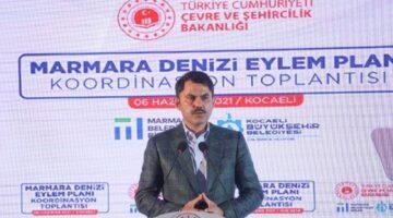 22 madde ile Marmara Denizi Koruma Eylem Planı…